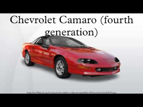 Chevrolet Camaro (fourth generation)