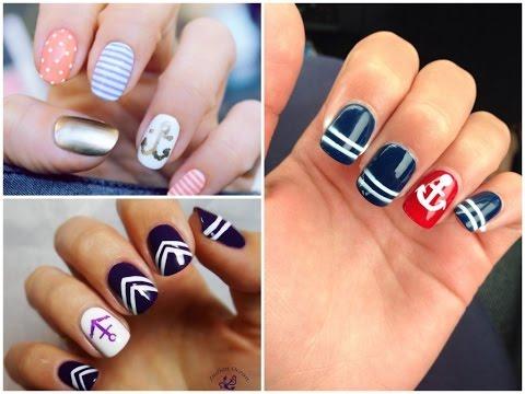 ocean nail art - 25 ideas