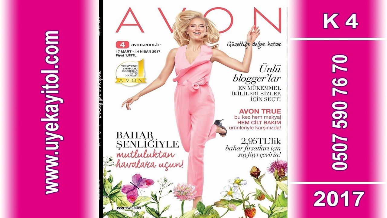Avon K4 Katalog 2017- Full HD - Avon Mart- Nisan Katalog 2017