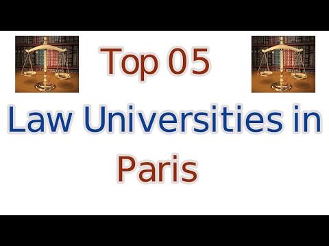 Top 5 Law Universities in Paris