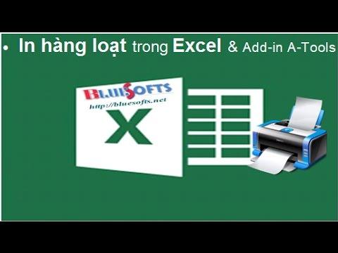In liên tục trong Excel các mục chọn lọc từ danh sách – Add-in A-Tools Nguyễn Duy Tuân