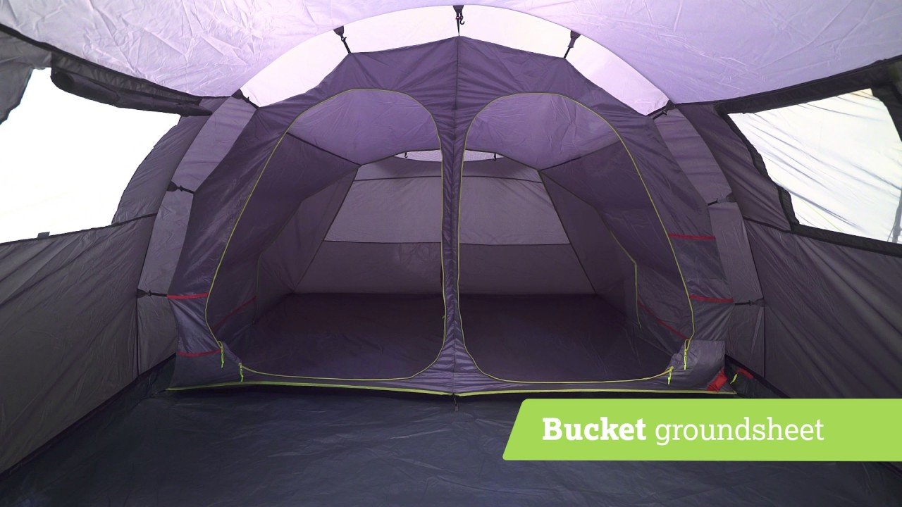 Urban Escape 4 Person Tunnel Tent & Urban Escape 4 Person Tunnel Tent - YouTube