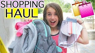BACK TO SCHOOL SHOPPING HAUL