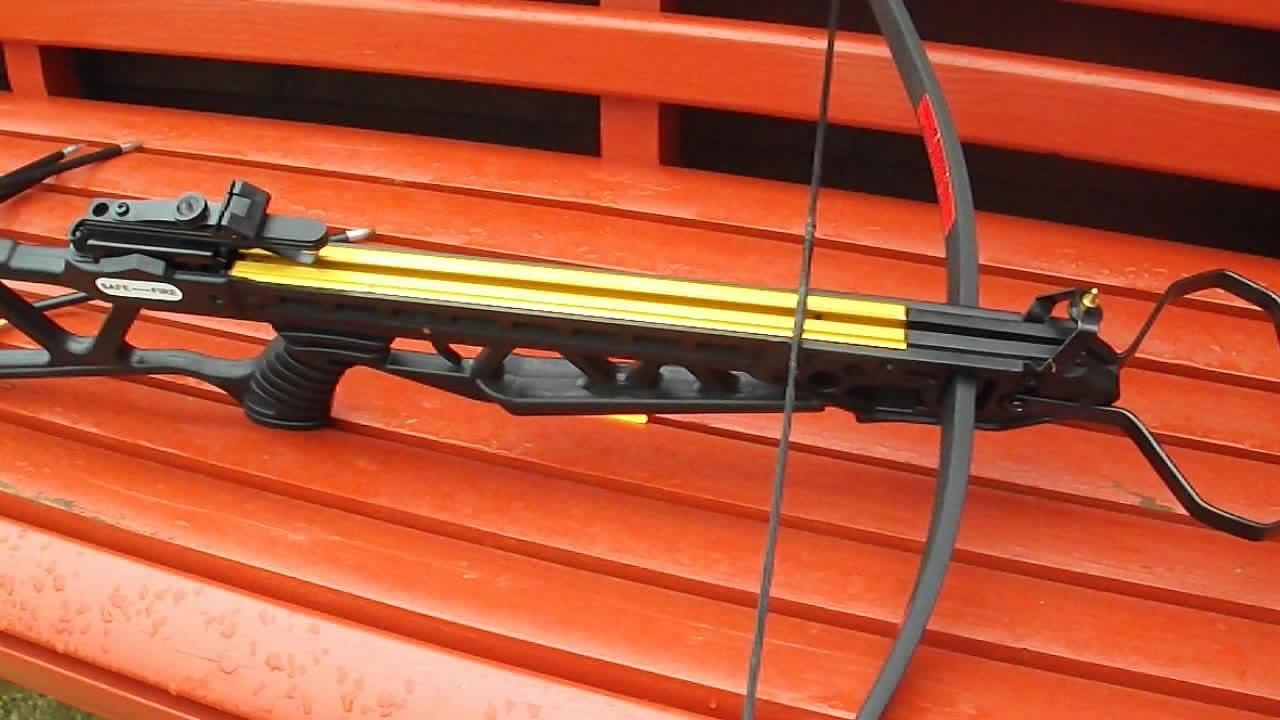 120lb Crossbow penetration range test