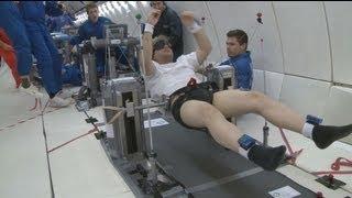euronews space - Vol parabolique : les joies de l