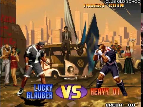 The King of Fighters'98 Brian-Lucky-Heavy D!