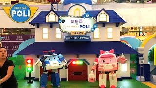 Robocar Poli Meet and Greet Character Mascot Giant Exhibit Windsor House, Causeway Bay, Hong Kong