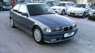 1999 BMW 316i COMPACT M-optik Full Review,Start Up, Engine, and In Depth Tour