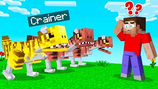 Which DINOSAUR Is The REAL CRAINER? (Minecraft Guess Who)