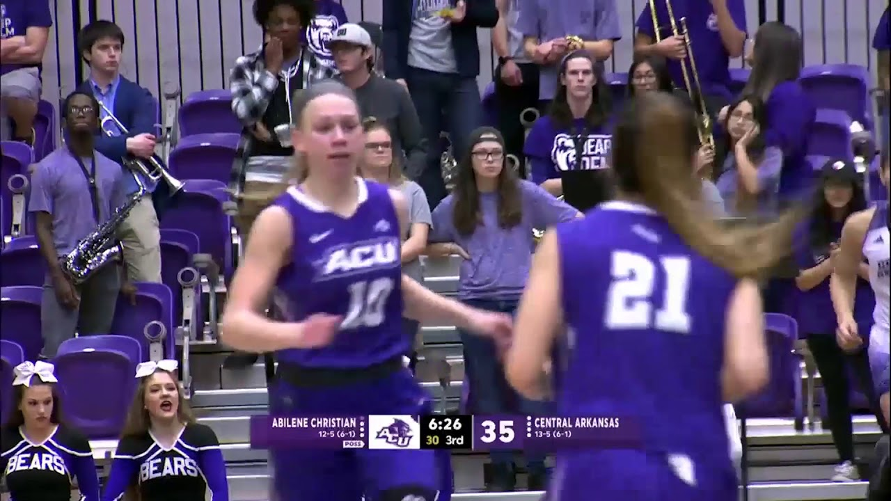 ACU Women's Basketball | ACU vs UCA - YouTube
