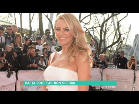 BAFTA TV 2016 Fashion - Tess Daly | This Morning