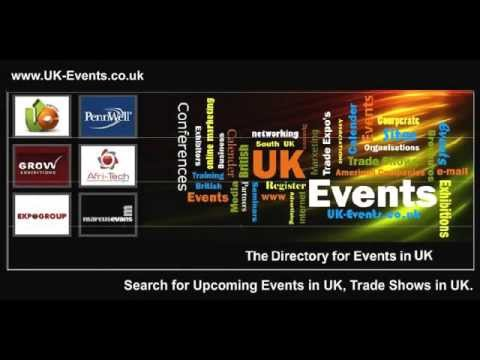 UK Business Events, Exhibitions, Trade Shows in UK