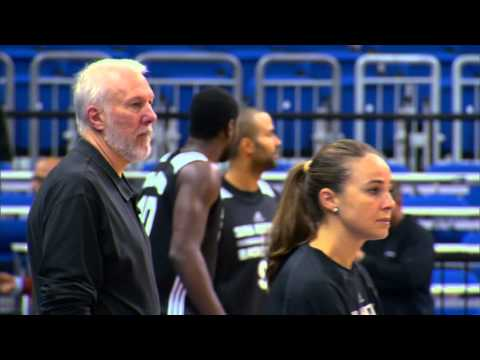 Becky Hammon on her head coach's support of her NBA coaching