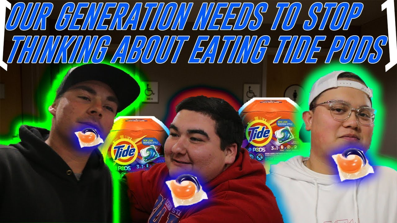 ASKING PEOPLE IF THEY WOULD EAT TIDE PODS - YouTube