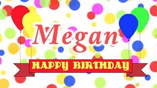 Happy Birthday Megan Song