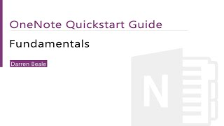 OneNote Tutorial - Fundamentals. Great for Evernote Users