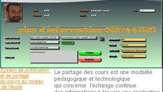 Gestion de Partage et de publication des documents
