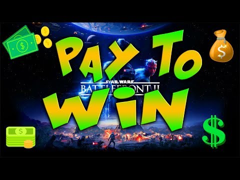 THIS IS WHAT PAY TO WIN LOOKS LIKE IN STAR WARS BATTLEFRONT 2!