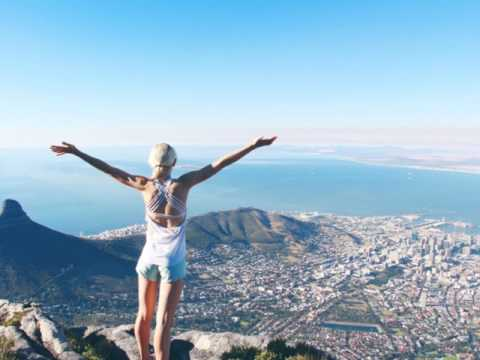 Table  Mountain in South Africa, wonderful travel destination