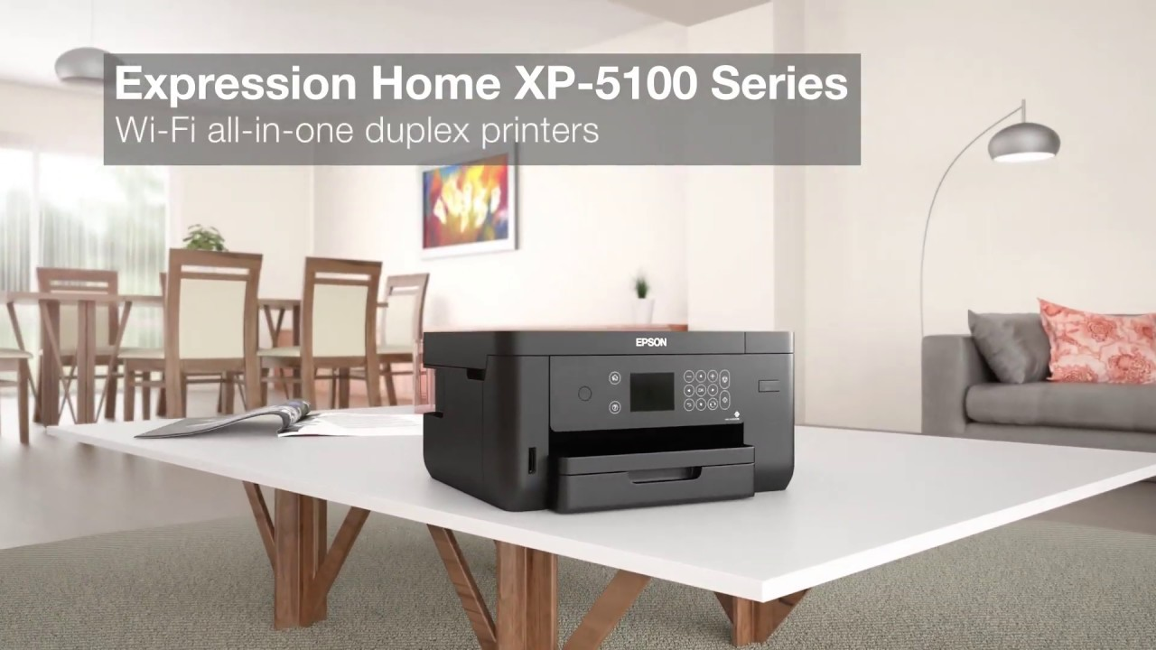Epson Expression Home Xp 5100 All In One A4 Colour Inkjet Multifunction C11cg29401 Youtube