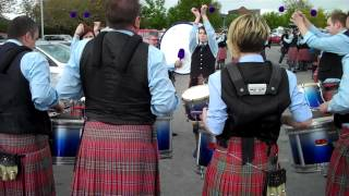 Quinn Memorial Pipe Band Drum Corps - Ards 2012