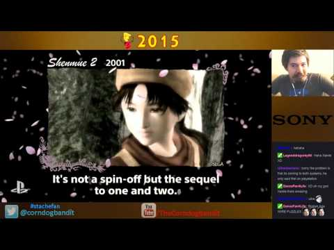 Shenmue 3 Reaction during livestream on Twitch