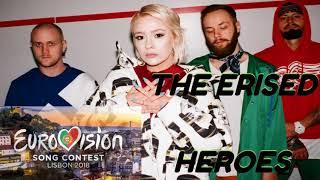 THE ERISED (Ukraine)- Heroes, Eurovision2018