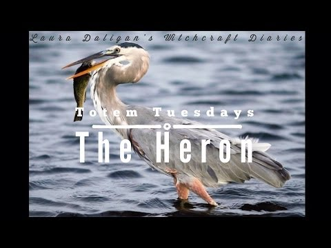 Totem Tuesday: The Heron