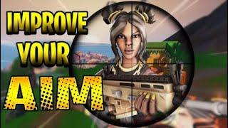 Melhore o seu objetivo! (AIM/Edit/Build) aquecer mapa-(Fortnite Battle Royale!)