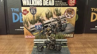 The Walking Dead Building Set Daryl With Chopper Review (hd)