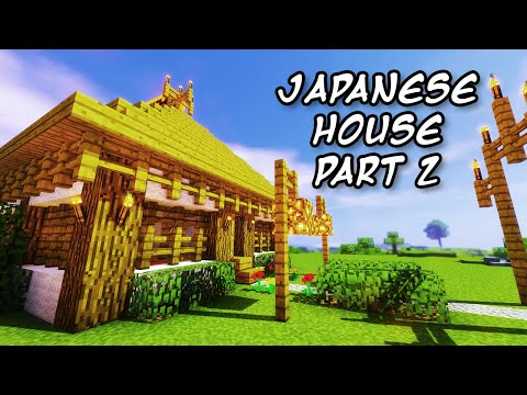 Minecraft Tutorials - Minecraft Tutorial #1 - How to Build a Japanese Themed House 2/2