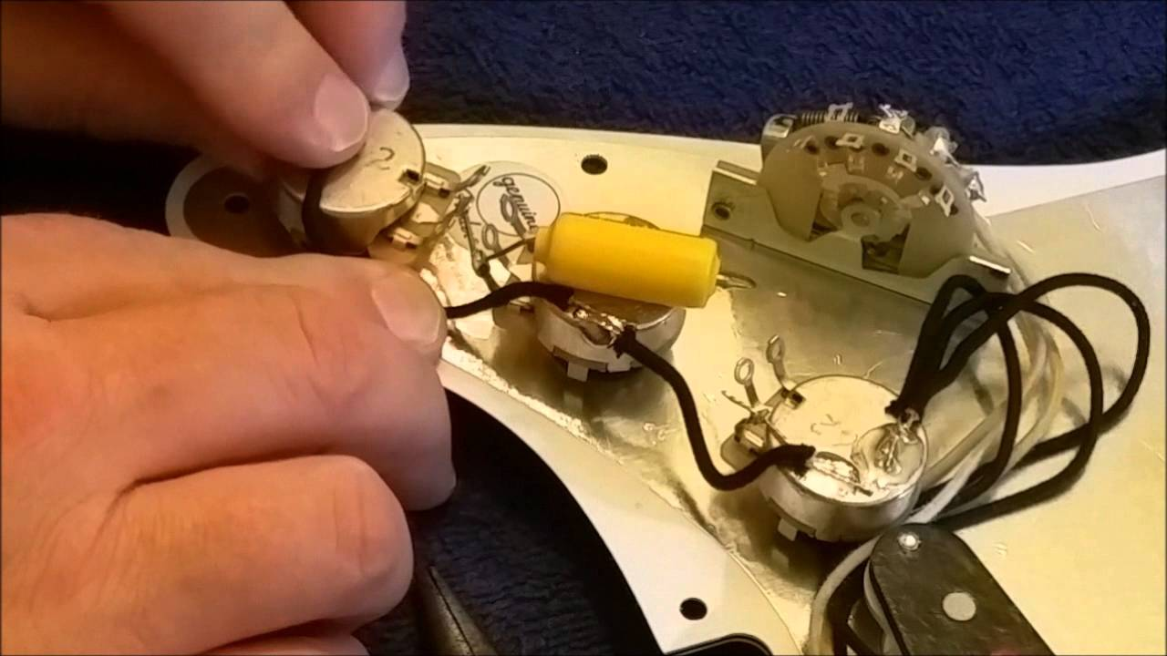 Fender Strat Custom Shop Texas Specials Wiring Diagram Reinvent American Diagrams Stratocaster Special Pickguard Build And Install Youtube Rh Com Hss 5 Way Switch