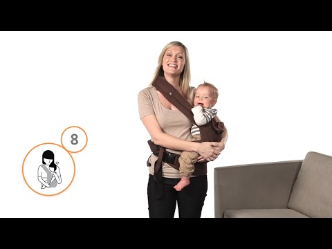Hip Carry on Original Baby Carrier | Ergobaby