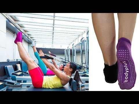 Pilates And Yoga Grip Socks