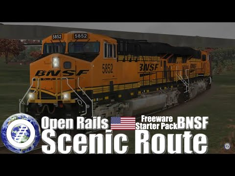 Open Rails (MSTS Compatible Train Sim) France -    - With Loop