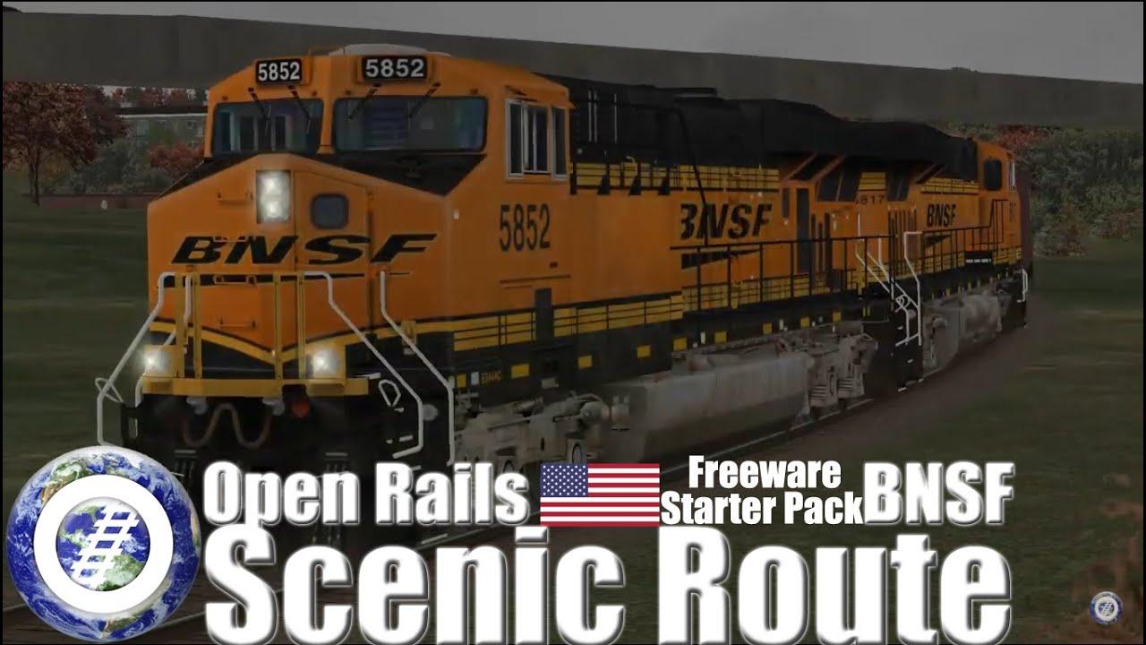 Open Rails USA - Freeware BNSF Scenic Route