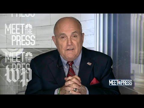 Giuliani walks back claims on Trump's Moscow tower talks