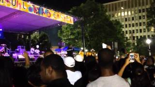 "Doug E Fresh at 2014 Multifest in Charleston, West Virginia, ""Let Me Clear My Throat"""