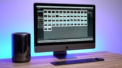 2013 Mac Pro vs iMac Pro - Photo Editing Comparison (Part 2)