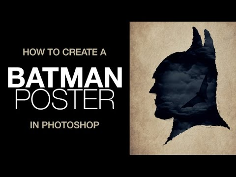 How to Create a Batman Poster in Photoshop