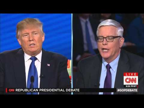 Donald Trump insults Hugh Hewitt's ratings in response to a question