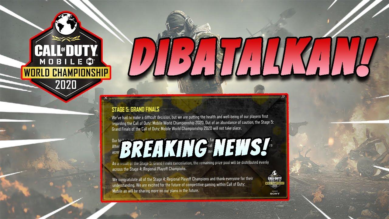 Berita Penting: CODM World Championship 2020 DIBATALKAN! PARAH!   CODM  Indonesia - YouTube