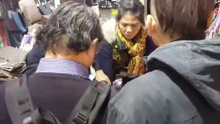 Argument / Fighting at Temple street, Hong Kong (part 1)