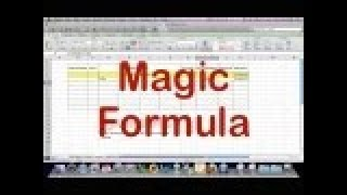Automated Excel Checkbook Register - The Magic Formula