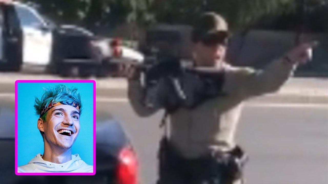 Santa Clarita cops point guns at teens