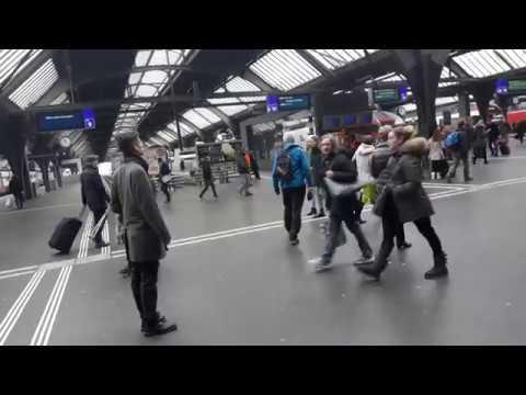 Zurich City Centre Train Station | Zurich HB Station | Downtown Zurich, Switzerland