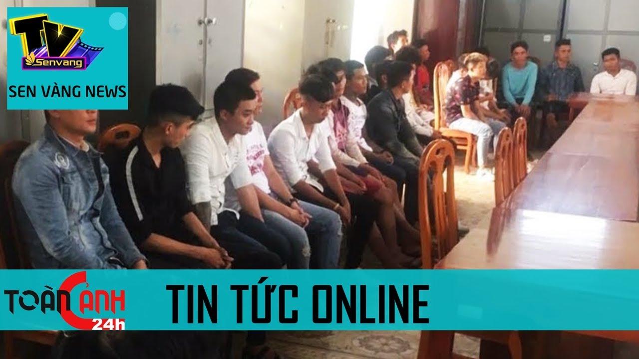 Gần 30 thanh niên 'hổ báo' Bình Thuận mang 'hàng nóng' đi hỗn chiến hây chấn động   Sen Vàng Tivi