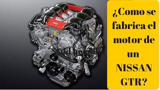 Nissan GTR y su motor hecho a mano   Automotriz TV