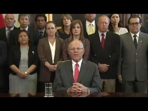 Pérou : accusé de corruption, le président Pedro Pablo Kuczynski démissionne