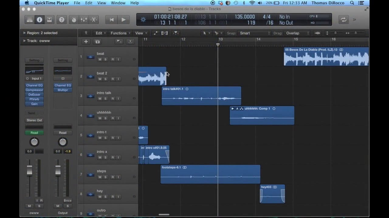 how to add reverb in logic pro x